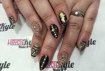 MY NAILZ DID / My nails I have done myself and at Wah Nails, Kaycie Kyle, Eva Nails