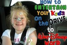 Disney World - How To Get There / Tips for traveling to Walt Disney World including driving, flying or taking a train.  / by Couponing to Disney