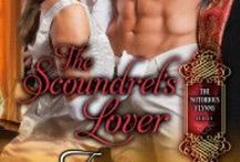 The Scoundrel's Lover (The Notorious Flynns #2) / Annabelle Flynn is the sister of two libertines, and her reaction has been to become the picture of purity. But the sensual nature of her family runs in her veins & she's troubled by urges. She pursues a marriage even while she tries to save her broken brother by following him to the Donville Masquerade, run by Marcus Rivers.   By day, Annabelle seeks a husband. By night, she comes to Marcus's business… and his bed. Will Annabelle be willing to trade passion for cold, calculated 'perfection'?