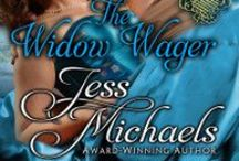 The Widow Wager (The Notorious Flynns #3) / Crispin Flynn has been on a downward spiral ever since he lost the woman he loved. His response has been drinking and gambling his way to ruin. Deep in his cups, he places a bet that leads to being forced to marry widow Gemma. Gemma once had a passionate side, but has hidden it since her husband died during love making. Now she finds herself the unwanted wife of one of the biggest libertines in London. Can they overcome mistrust in order to make the worst night of their lives one of their best?
