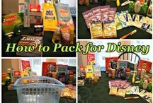Disney World - Packing / Disney World packing tips including things that will make your trip easier.  / by Couponing to Disney
