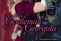 No Gentleman for Georgina (The Notorious Flynns 4) / Georgina Hickson has lived her life doing everything she is supposed to do in order to land the titled husband her family requires. When she met Paul Abbot at a gathering at a friend's, it was the first time she ever wanted more. Paul has been in love with Georgina since the moment he laid eyes on her, but he isn't good enough for her. When he finds out she desperately wants to see a special exhibit in London, he agrees to take her. But can a stolen moment lead to happiness or heartache?