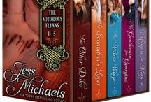 The Notorious Flynns Boxed Set / Buy the entire Notorious Flynns set by Jess Michaels for just $9.99 (a savings of almost $8 off of buying them individually)! #Historicalromance