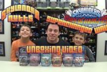 Skylanders Unboxing Videos / A Collection of all of the Skylanders Unboxing Videos we have done.