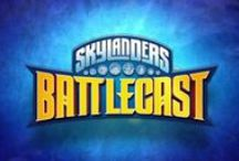 Skylanders Battlecast / Skylanders Battlecast Trading Card / Augmented Reality mobile game.