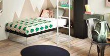C h i l d 's b e d r o o m / Arredi, finiture, giocattoli, suggestioni per la camera dei più piccoli.