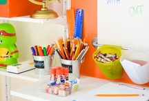 DECOR :: Homeschool Room Living / Homeschool room/learning spaces that inspire children to learn.