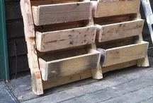 Pallets / How to build stuff out of old pallets