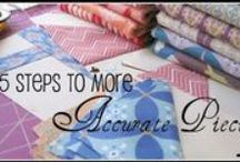 QUILTS: Tutorials and Tips / by Elizabeth Hyde