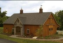 Horse Barns / It's your home away from home. Horse barns and equine facilities. For information on building your custom barn check out www.custombarnbuilding.com