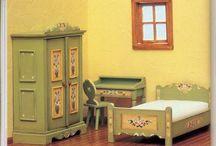 Rооmbox (румбоксы) / Кукольные домики и их наполнение