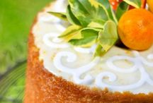 Orange Clementine Cakes and Cookies / Providing gifts from California.  Send a gift of California sunshine to brighten a day.