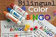 Casa Watkins Bilingual Tot School / Bilingual mommy school activities, crafts, and printables from my blog Casa Watkins and other great resources from other sites