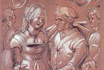Niklaus Manuel Deutsch / Swiss painter, draftsman, designer, 1484-1530
