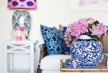 Global Decor: Ginger Jars / Inspiration and ideas for decorating with ginger jars