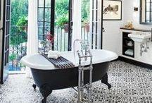 DECOR :: Bathroom Living / Bathroom and powder room makeover, decor, and inspiration
