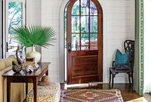 DECOR :: Entryway Living / Entryway and foyer inspiration and makeovers