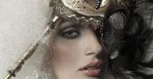 Masquerade / Masks, headdresses, gowns, accessories and WOW (World of wearable art). Just a whole lot of Gorgeousness.