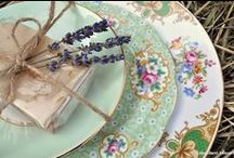 TABLE SETTINGS / Table setting ideas for your wedding or event