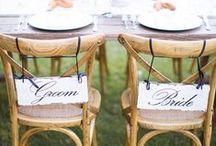 SWEETHEART TABLE / Ideas for wedding sweetheart table