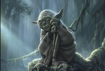 Star Wars Character - Yoda / Follow this board, you will.