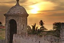 Cartagena, Colombia / Colombia's Caribbean jewel - I simply love being here - such a romantic and charming city.