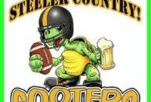 Go Steelers! / Steelers fans headquarters in Pinellas County. Cooters is Steelers Country!