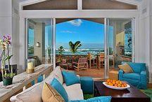Beach House Decor / Cute and clever design ideas for your beach house.