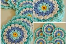 Crochet Granny Square and Mandalas <3