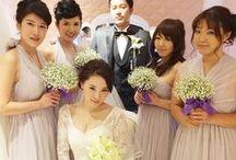 Bridesmaid Photo / 非日常カラーを取り入れて…ウエディングのイメージに合わせて自由に選べます。