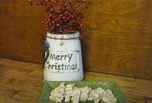 Christmas in Appalachia / Ideas/Inspiration for creating an Appalachian Style Christmas