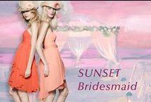 Sunset Bridesmaid / 移り変わる景色とキャンドルに照らされた幻想的なナイトタイム。ドラマチックな時間を楽しむブライズメイドドレス。