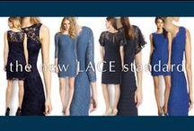 the new LACE standard / 繊細なレーススタイルは、華やか&上品。女性らしい印象を演出します。ウェディングゲストやパーティスタイルに。
