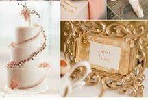Goud! Kleuren inspiratie Bruiloft
