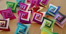 O r i g a m i / Rôzne skladanie z papiera, nie len origami :-)