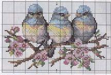 Vyšívaníčko - vtáčinky a iné zverinky