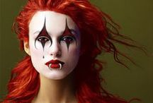 masquerade / halloween, fantasy make-up, costumes, make-believe