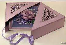 Papierové krabičky a taštičky / ...na maličké darčeky :-)