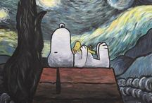 Snoopy & peanuts / Snoopy :)