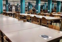 Una biblioteca, dos espais