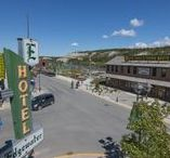 Edgewater Hotel / After a $2.2 million room renovation, the historic Edgewater Hotel  reopened April 18, 2017,  offering a boutique hotel experience on the Yukon River waterfront!