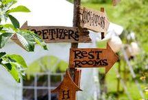 Garden Wedding Ideas / Here are some wonderful ideas for  garden wedding ceremonies and receptions....enjoy!