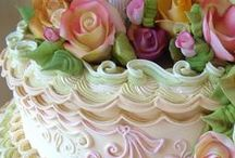 Wedding Cakes & Confections / OMG!  How can you choose!!  There are so many choices and so many wonderful styles and colors.  Perhaps you'll combine several....Have fun!