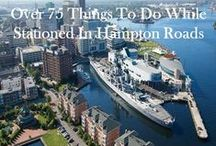 Hampton Roads Military Duty Station / Learn about Military Discounts, Military-Friendly Businesses, Reviews/Ratings on Where to Live (apartments, neighborhoods, military housing), and School Ratings on MilitaryBridge.com