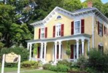 Choice Accommodations in Brattleboro, Vermont area / Why settle for a hotel?  Experience Vermont and its creative people in Bed & Breakfasts and Inns that offer all the amenities and an ambiance that can't be beat. / by 1868 Crosby House Bed & Breakfast
