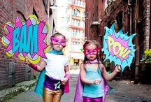Motto Superheld, Hero, Superman Mottoparty Kindergeburtstag
