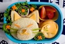 Lunchtime Treats / Looking for some lunchtime inspiration? We've put together our favourite ideas for the kids' lunch boxes; sure to beat the back-to-school blues!