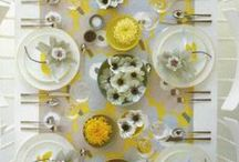 Wedding Table Decorations / Bright Ideas for a Stunning Wedding Table.