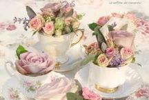 Vintage Table Decorations / Ideas for Creating a Beautiful Vintage Table.
