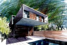 Architect / Architecture drawing
